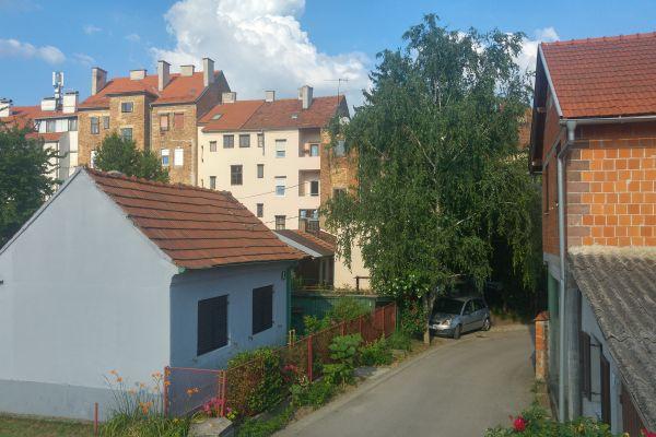 Streets of Trnje Zagreb