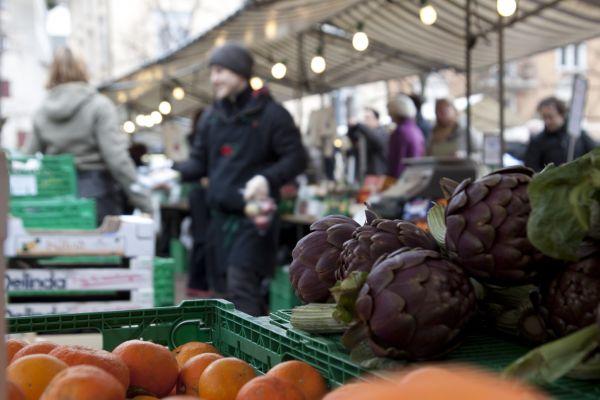 Market Oerlikon Zurich