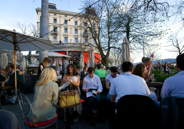 Terrasse Café Zurich