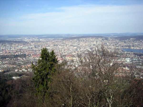 Uetliberg by Foot Zurich