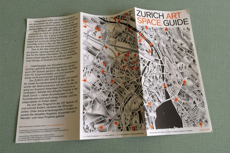 Zurich Art Space Guide Zurich